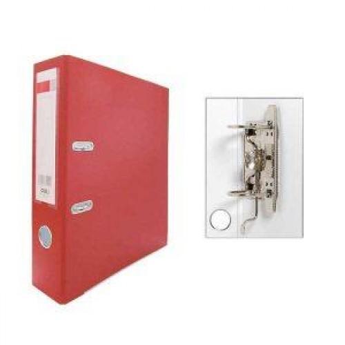 Папка-регистратор 75 мм красный Deli E39590
