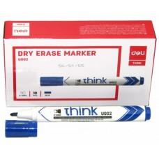 Маркер для доски синий 2-5мм DELI U00230
