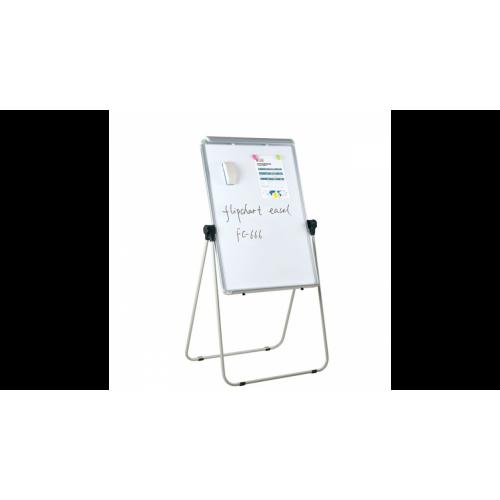 Флипчарт магнитно-маркерный, 70x100 см, мет. рамка, подставка с возмож-тью вращения на 360 градусов