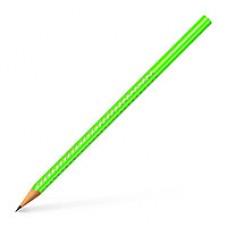 """Карандаш простой """"Grip Sparkle"""" Faber Castel, B, зеленый,118316"""