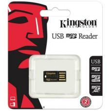 Картридер Kingston USB microSD/microSDHC Reader (FCR-MRG2)