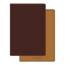 Записная книга Copybook 2в1 39446/15 КОРИЧНЕВО-РЫЖИЙ (А5, 145х213мм, мягк. переплет, 320 стр.)