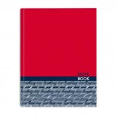 """Записная книжка """"Ноутбук 45768 Красный и фактур (А6+, 96л)"""