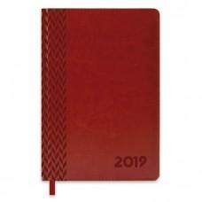 Ежедневник датированный коричневый арт.47545/15 САРИФ (А5, 146х211 мм, 352 стр.)
