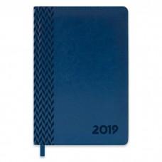 Ежедневник датированный синий арт.47547/15 САРИФ (А5, 146х211 мм, 352 стр.)