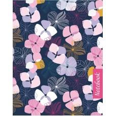 Записная книжка арт.43183 Цветочный узор (117*151мм, 96стр)