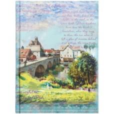 Ежедневник недатированный «Феникс+», 152×203 мм, 120 л., «Пейзаж»