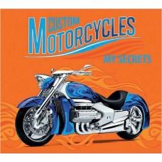 Органайзер трехблочный детский арт.42660/30 Синий Мотоцикл (95*85мм, магнит замок)