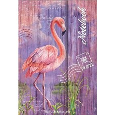 "Записная книжка ""Ноутбук"" арт.62676 Фламинго (102*148мм, 120л)"