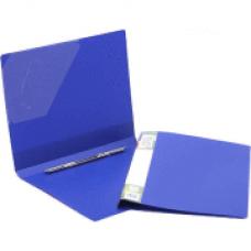 Папка с пружинным механизмом А4 синяя FO21902