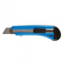 Нож канцелярский 18мм пластиковый корпус  FO60704