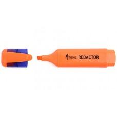 Маркер-текстовыделитель Redactor, оранжевый FO52002