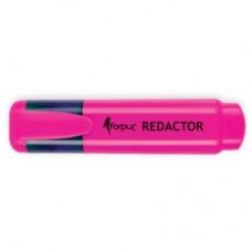 Маркер-текстовыделитель Redactor, розовый FO52004