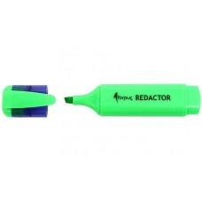 Маркер-текстовыделитель Redactor, зеленый FO52006