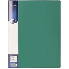 Папка с пружинным механизмом А4 зеленая FO21943