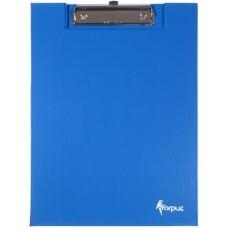 Планшет с крышкой А4 синий FO22302