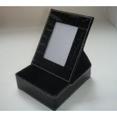 Подставка для бумаги арт.28827 с рамкой для фотогр