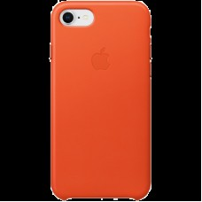 Чехол для iPhone 8 / 7 Leather Case - Bright Orange