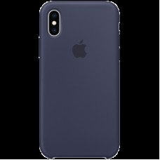 Чехол на iPhone XS Silicone Case - Midnight Blue, Model