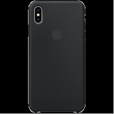 Чехол на iPhone XS Max Silicone Case - Black, Model