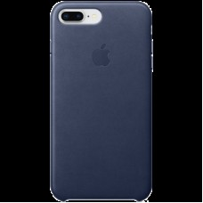 Накладной чехол Apple Leather Case для IPhone 8+/7+ Midnight Blue / MQHL2ZM/A