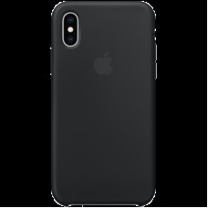 Чехол на iPhone XS Silicone Case - Black, Model
