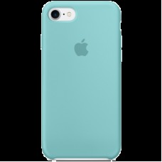 Чехол для iPhone 7 Silicone Case - Sea Blue, Model
