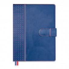Ежедневник-органайзер полудатированный А5+, 192л, арт.47535 САРИФ синий