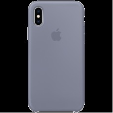 Чехол на iPhone XS Silicone Case - Lavender Gray, Model
