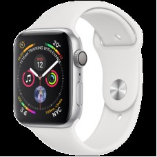 Умные часы Apple Watch Series 4 GPS, 40mm Silver Aluminium Case with White Sport Band, Model A1977