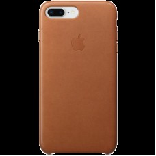 Накладной чехол Apple Leather Case для IPhone 8+/7+ Saddle Brown / MQHK2ZM/A
