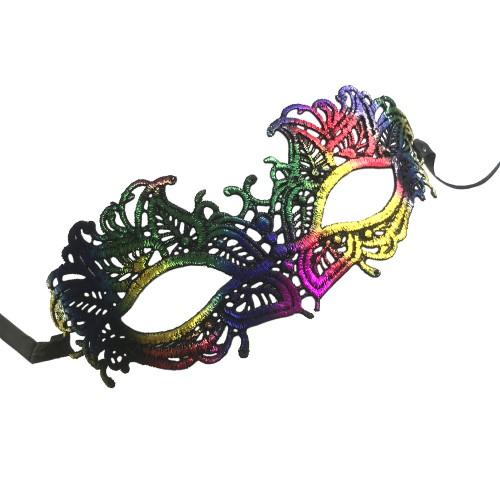 Маскарадная маска Павлин арт.78210