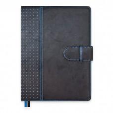 Ежедневник-органайзер полудатированный А5+, 192л, арт.47532 САРИФ черный