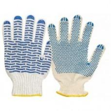 Перчатки х/б с с ПВХ покрытием