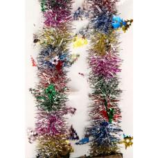 Новогодняя мишура арт.38181 (6см,2м, из ПЭТ) / 6см,2м арт.38181