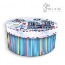 Коробка подарочная Нотр-Дам S арт.44280 (14х14х7см, из мелованного, ламинированного, не гофрированно