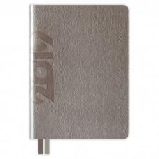 Ежедневник датированный НАППА графитовый металлик арт.47709/15 (А6+, 126х174, 352 стр.)