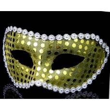 "Карнавальная маска ""Желтая мозаика"" арт.75241"