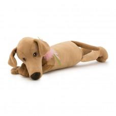 Игрушка мягконабивная Собака Миа лежачая 35 7651/35