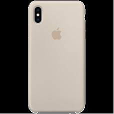 Чехол на iPhone XS Max Silicone Case - Stone, Model