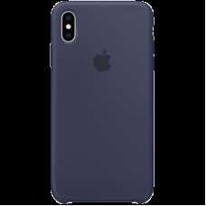 Чехол на iPhone XS Max Silicone Case - Midnight Blue, Model
