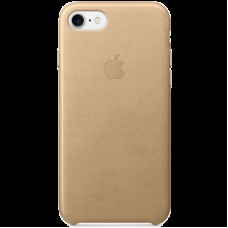 Чехол для iPhone 7 Leather Case - Tan, Model