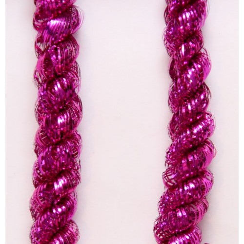 Новогодняя мишура арт.34867 (розовый, 5*200 см, из ПЭТ) арт.34867