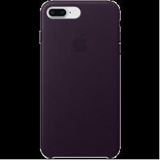 Чехол для iPhone 8 Plus / 7 Plus Leather Case - Dark Aubergine