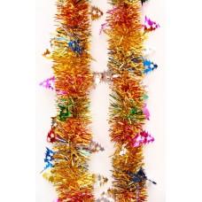 Новогодняя мишура арт.38180 (6см,2м, из ПЭТ) / 6см,2м арт.38180