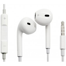 Наушники-гарнитура Apple EarPods with Remote and Mic (MNHF2ZM/A)
