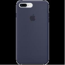 Накладной чехол Apple Silicone Case для IPhone 8+/7+ Midnight Blue / MQGY2ZM/A