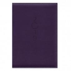Ежедневник датированный фиолетовый арт.47413/15 (А5, 145х210, 352 стр)
