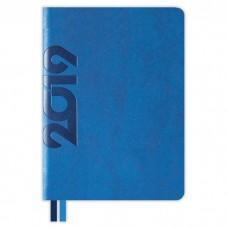 Ежедневник датированный ТРАВЕРТИН синий арт.47714/15 (А6+, 126х174, 352 стр.)