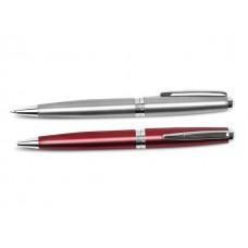 Шариковая ручка ROME 0.7мм серебренный корпус FO51582